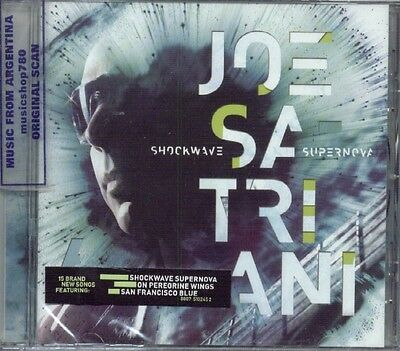 JOE SATRIANI SHOCKWAVE SUPERNOVA SEALED CD NEW 2015