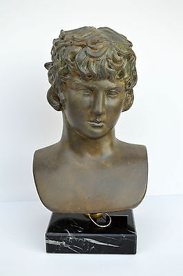 Antinous, Antinoos statue bust the favourite of the Emperor Hadrian