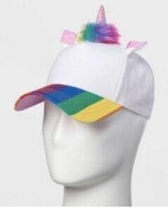 White unicorn hat