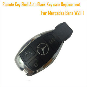 Details about Replacement Remote Key Shell Blank Key case for Mercedes Benz  W211 - no chip