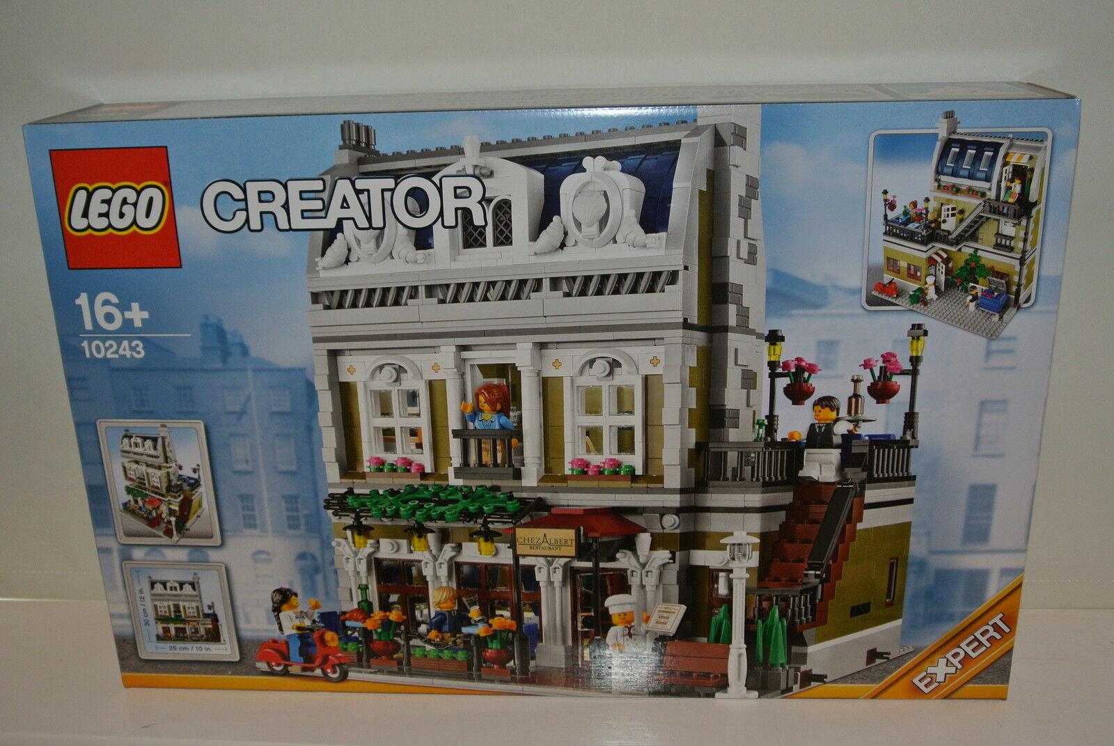 Lego 10243 -  Parisian Restaurant - Creator Expert - BRAND nouveau FACTORY SEALED  belle