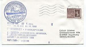 1988 Fischereiforschungsschiff Walter Herwig Kapitan Grimm Polar Antarctic Cover