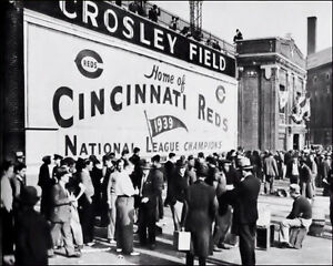 Crosley-Field-4-Photo-8X10-1940-Cincinnati-Reds-Buy-Any-2-Get-1-FREE