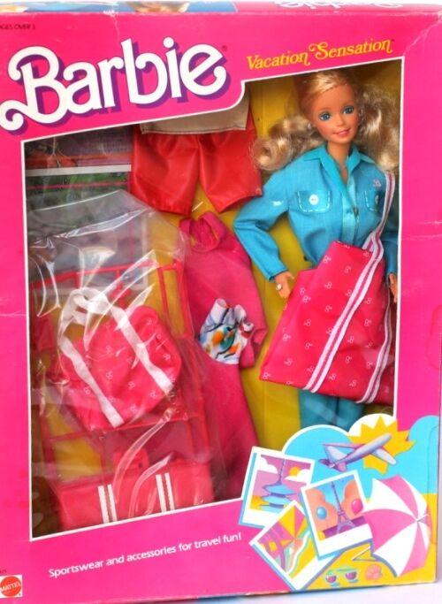 BARBIE  vacation sensation blu Fashion NRFB 1988