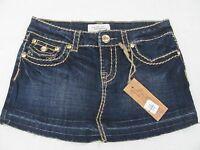 Womens La Idol Jean Mini Skirt Size Small With Tag Original $33