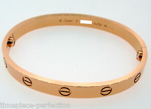 Cartier Love Bracelet 18k Rose Gold