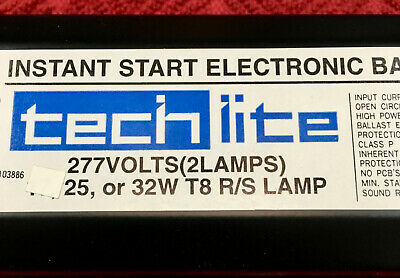 EnergyPro 2 Lamp T8 Rapid Start Electronic Ballast Model SLE-232-120-LPF