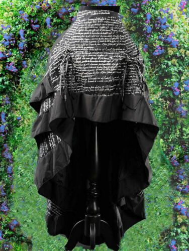 Skirt 40 Steampunk Rock Ruffle 38 Gothic 44 46 Burlesque Bustle Victorian 42 aZ8wxY
