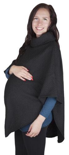 Mija nicht nur Schwangerschaftspullover Umstandsponcho 3057 Poncho