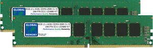 8GB-2x4GB-DDR4-2666MHz-PC4-21300-288-PIN-ECC-UDIMM-Para-Servidores-Y-Estaciones-De-Trabajo-RAM-KIT