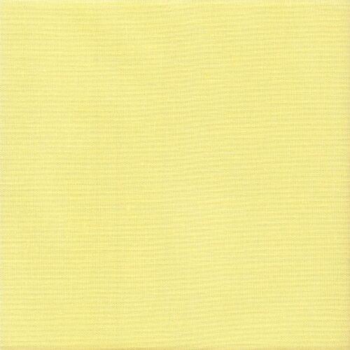 28 count Zweigart Cashel Linen Fabric size 49 x 70cms  Summer Yellow