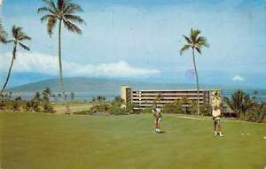 Image Is Loading Maui Hawaii Kaanapali Beach Hotel Golf Course Vintage