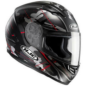 HJC-CS-15-Songtan-Casque-de-Moto-Integral-Touring-Mat-Noir-Gris-Rouge