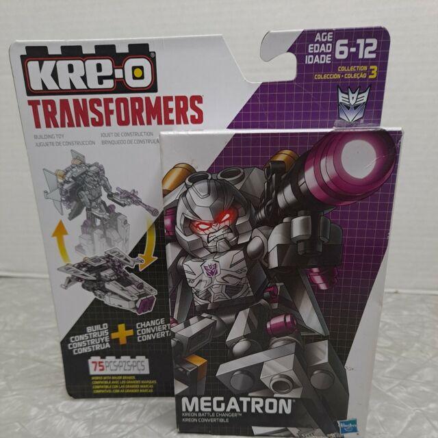 KRE-O Transformers Battle Changers MEGATRON 75 PC Building Kit New Sealed 2015
