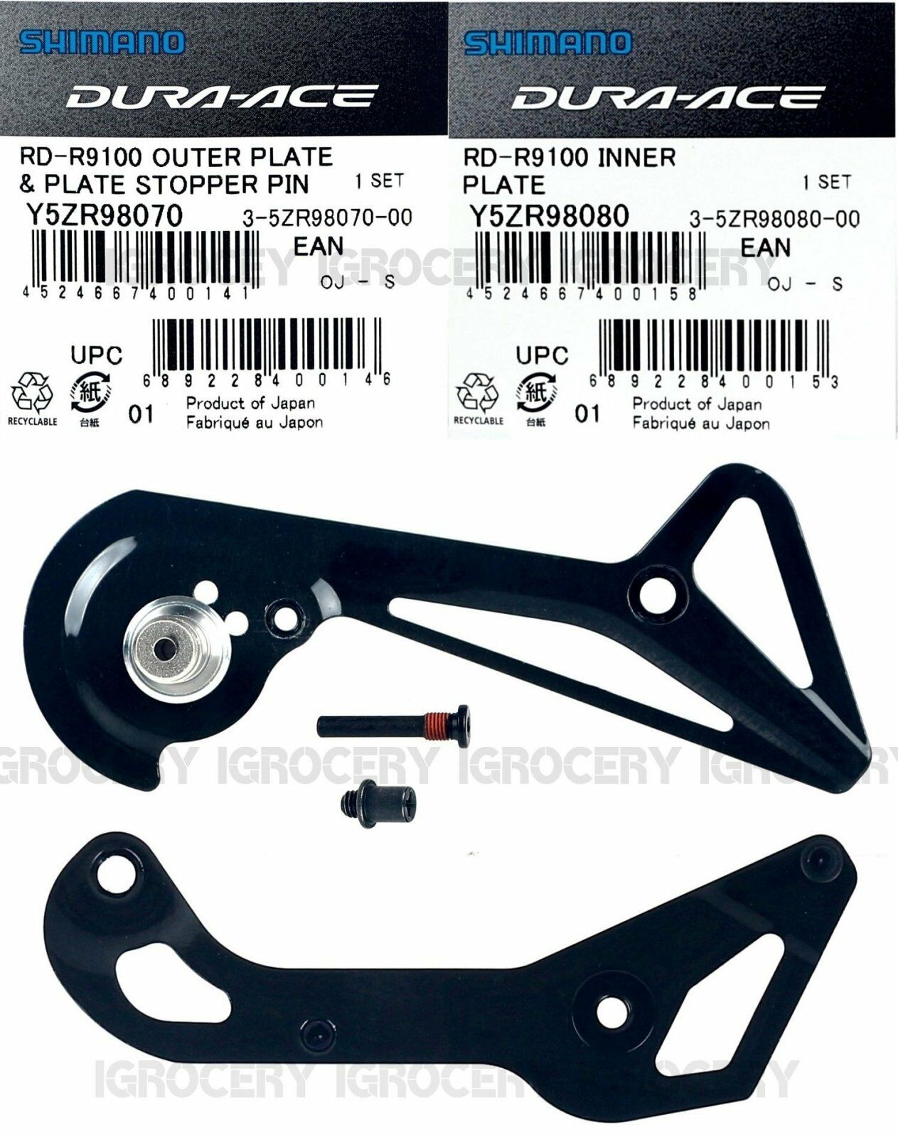 Shimano Dura  Ace RD-R9100-SS Rear Derailleur CageSet Plate NIB  clients first reputation first