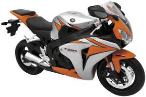 New Ray Toys 49293 Street Bike 1 6 Scale Motorcycle Honda Cbr1000rr Orange Ebay