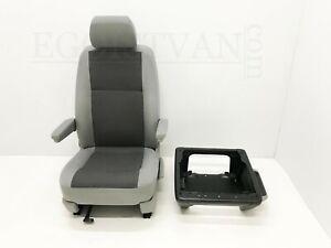VW-T6-T5-GP-Transporter-Caravelle-Captain-Passenger-Seat-Austin-Grey-Base