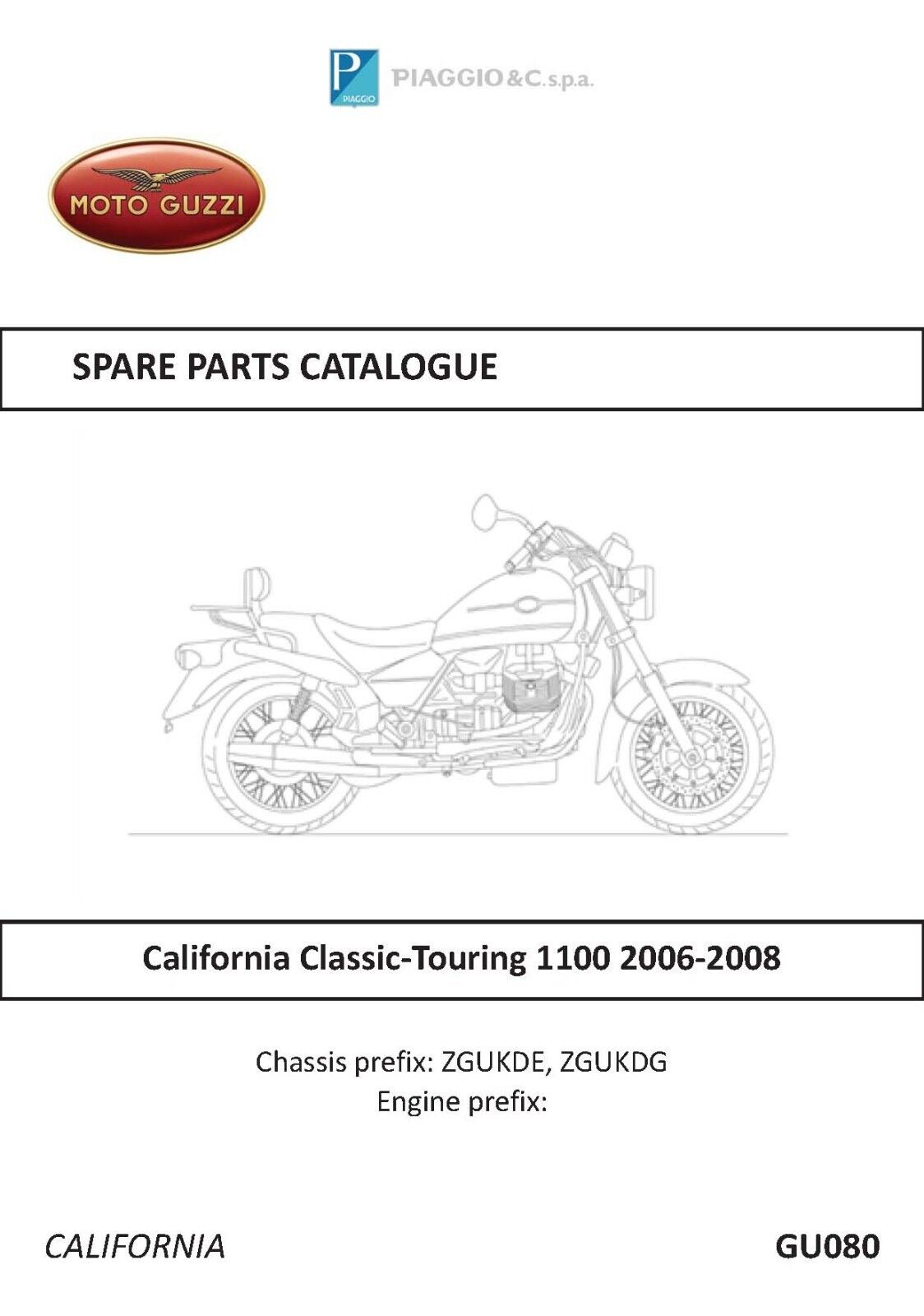 Moto Guzzi Parts Manual Book California Vintage 1100 2006 2007 2008 Motorcycle Engine Diagram Norton Secured Powered By Verisign