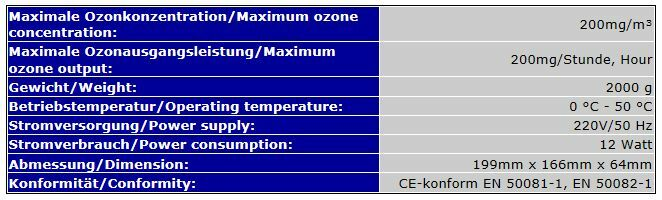 OZONIZER OZONE OZONE OZONE GENERATOR AUTOMATIC CONTROLLER AQUARIUM POND WATER ORP rotOX  OZ9 62f729