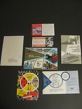 1970 Johnson 6 Hp Sea Horse Outboard Owner's Manual, & Orig. Paper Work / Mint!