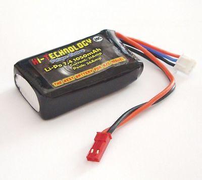 Batteria Battery for RX LIPO da 7,4v 2S 1050mAh celle per Riceventi for receiver