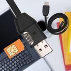 wireless GSM SIM Spy hidden USB cable design audio sound voice listening bug KJ
