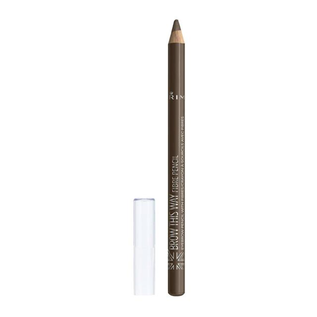 Rimmel Brow This Way Fibre Pencil 002 Medium Ebay