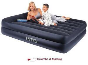 Intex 66702 letto materasso matrimoniale gonfiabile pompa elettrica incorporata ebay - Letto matrimoniale gonfiabile ...
