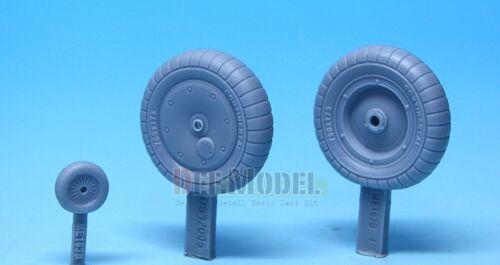 Me163 Komet Wheel set 1 for Meng 1//32 DS32005 DEF.MODEL