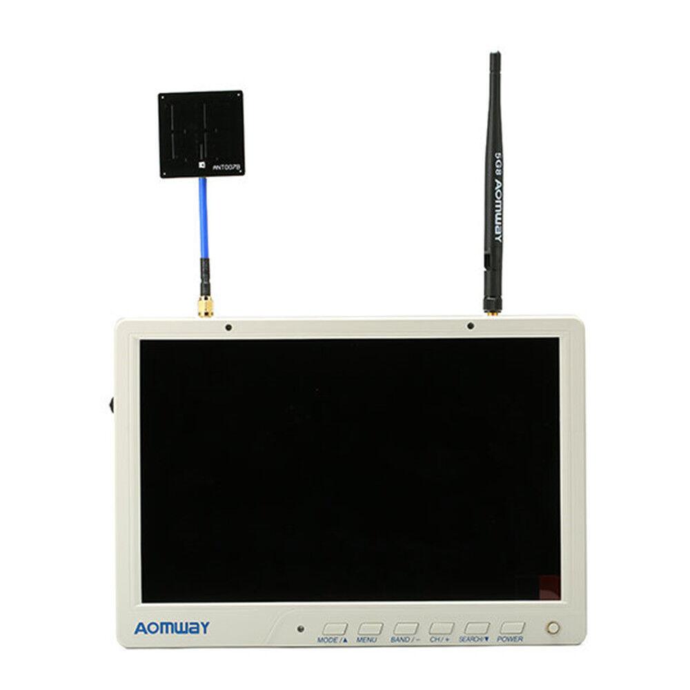 5. rp aomway hd588 10 zentimeter 5.8g 40ch vielfalt fpv hd display mit dvr bauen
