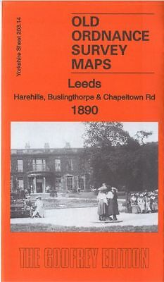 Old Ordnance Survey Map Leeds Harehills Buslingthorpe Chapeltown  1906  S203.14