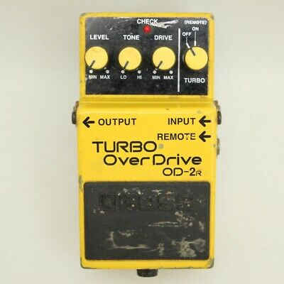 boss od 2r turbo over drive guitar effect pedal f s from japan bi10448 ebay. Black Bedroom Furniture Sets. Home Design Ideas
