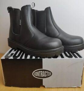Logique Entrepreneur 812sm Noir De Sécurité En Cuir Homme Revendeur Work Boots-uk Taille 6-neuf-afficher Le Titre D'origine MatéRiaux De Haute Qualité