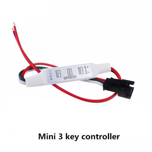 USB DC 5V-24V Mini RF wireless remote controller WS2812B ws2811 sk6812 led strip