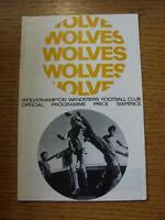 04/05/1968 Wolverhampton Wanderers v Chelsea  (Crease)