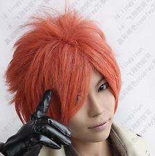 53 Ouran High School Host Club Kaoru Hitachiin Short orange cosplay Wig