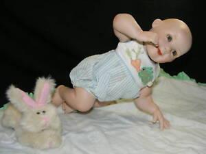 Porcelain-Doll-Ashton-Drake-Fresh-from-the-Patch-MIB