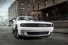 2016 DODGE CHALLENGER RT (White-Front End)  POSTER 24 X 36 INCH AWESOME!!