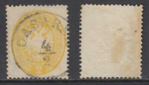 ITALY-1863-Lombardo-Veneto-Sassone-n-36