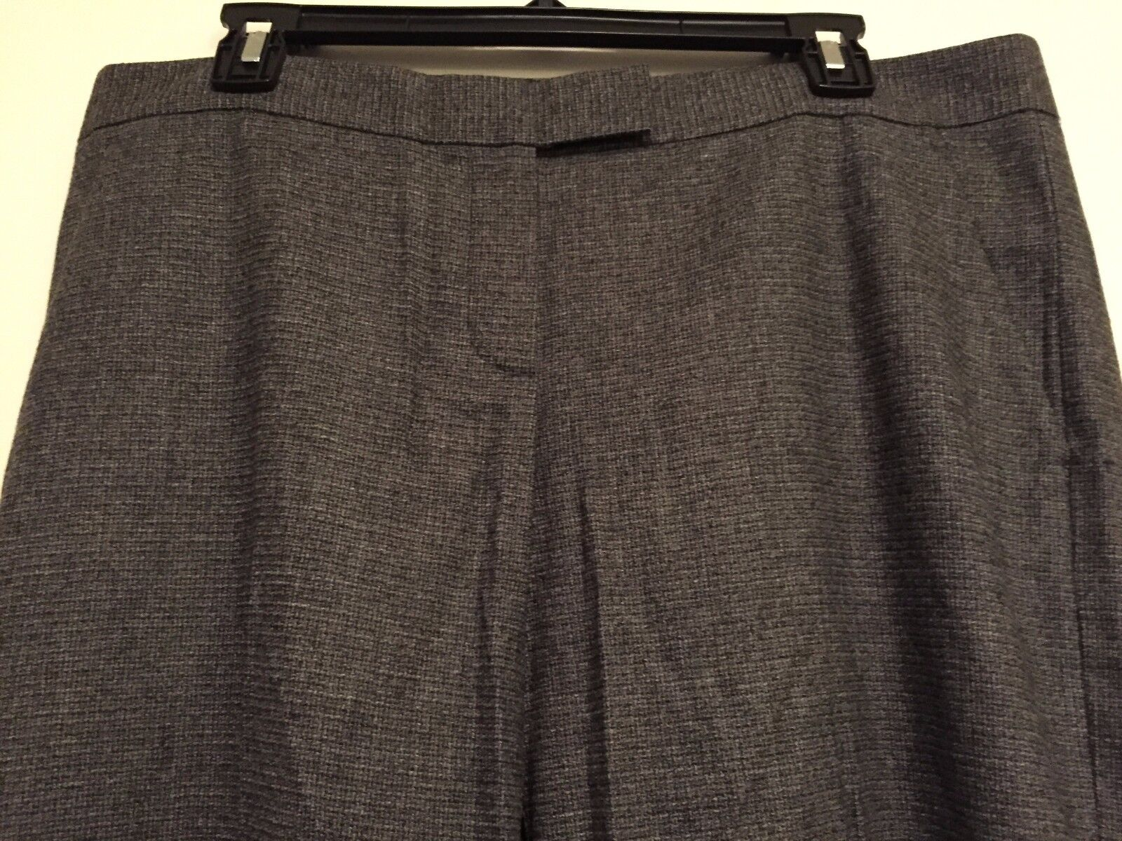 NWT Theory Nadra Dark Charcoal Stretch Wool Pants Trousers  265 – 12
