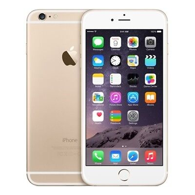 APPLE IPHONE 6 PLUS GOLD 64GB CAJA SELLADA GRADO A++ SIN RASGUÑOS NO FINGERPRINT