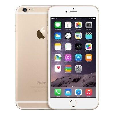 APPLE IPHONE 6 PLUS GOLD 64GB CAJA SELLADA GRADO A++ SIN RASGUÑOS NO FINGERPRINT