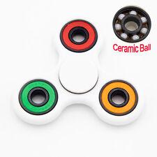 Hand Finger Spinner Ceramic & Steel Fidget Tri-Spinner For Kids / Adult ADHD