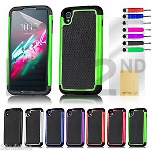 the latest 9cce4 e45a1 Details about 32nd Shockproof Case Cover For Alcatel Idol 3 Phones + Screen  Protector & Stylus