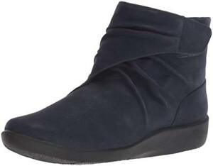 a95f45353b3df Image is loading Clarks-Women-039-s-Sillian-Tana-Cloudsteppers-Booties-