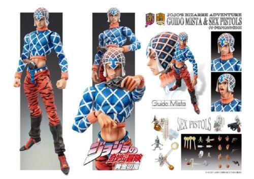Medicos JoJo Part 5 SAS Guido Mista /& Sex Pistols Action Figure