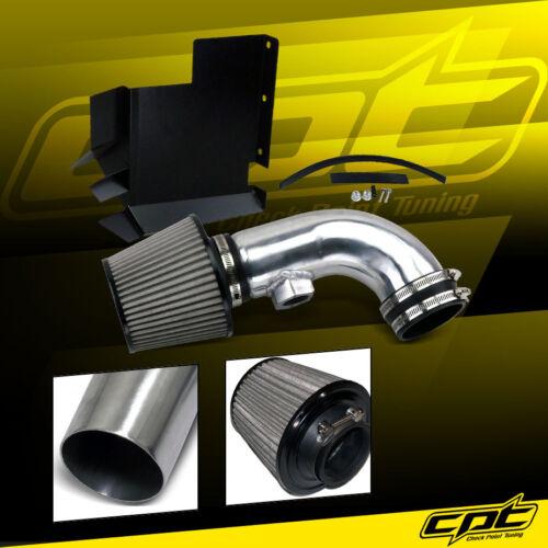07-12 BMW 328i E90//E92//E93 3.0L 6cyl Polish Cold Air Intake Stainless Filter