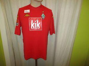 Werder-Bremen-Original-Kappa-Torwart-Trikot-2004-05-034-KIK-034-Gr-L-XL-TOP