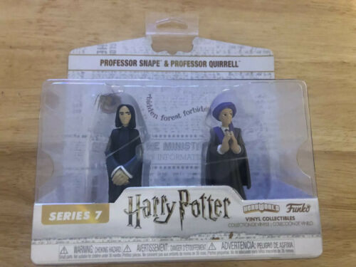 hero world NEUF Rogue /& Quirrell Harry Potter Funko heroworld S7 vinyl figures