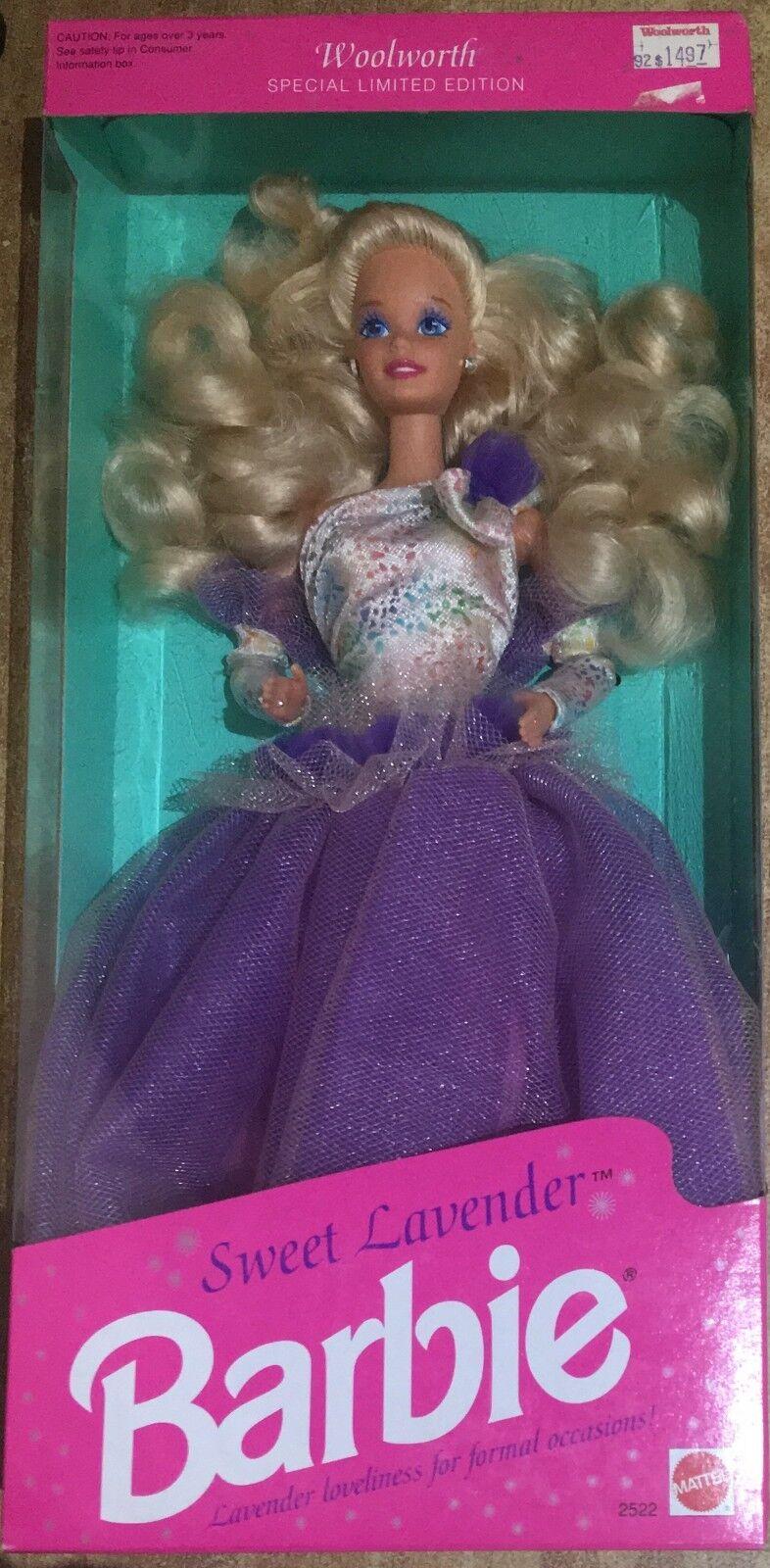 Barbie Mattel Sweet Lavander Woolworth Special Limited Edition 92'